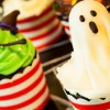 Easy Ghost Cupcakes {eggless and dairy-free}