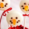 Dairy-Free Cookie Pop Snowmen