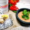 5-Minute Salsa Fresca and the Dunkin' Donuts GranDDe Burrito {and a Giveaway!}