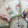 Unique Upcycled Diet Coke Bottle Clock