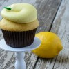 Lemon-Lemon Cupcakes with Lemon Frosting