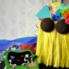 DIY Hula Girl Gift Bag