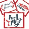 Totes Adorbs {AND FREE!} Merry Christmas Printable Wall Art