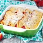 Strawberry Shortcake Baked French Toast
