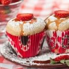 Easy Strawberry Shortcake Breakfast Muffins