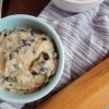 Vegan and Gluten-Free Edible Chocolate Chip Cookie Dough