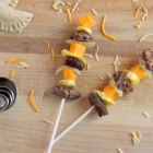 Breakfast on a Stick for Lunch {making lunch fun for kids series}