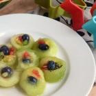 Fruit Sushi {making lunch fun for kids series}