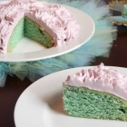 Perfect Little Tea Party Cake {vegan}