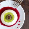 Bloody Eyeball Dessert - Vegan Panna Cotta {fancy word for pudding-ey stuff}