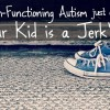 Is High-Functioning Autism just code for
