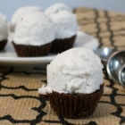 Egg-Free & Dairy-Free Mini-Brownie Ice Cream Cupcakes