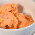 Eggless and Dairy-Free Orange Sherbet