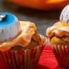 Creepy Eyeball Cupcakes {egg-free and dairy-free}