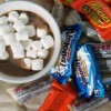 Halloween Candy Slow Cooker Hot Cocoa