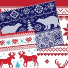 10 Free Printable Ugly Christmas Sweater Wrapping Papers