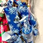 Easy Christmas Cracker Advent Calendar with Free Printable Numbers