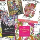 96 Ridiculously Awesome Adult Coloring Books Under $10