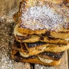 Banana-Chocolate French Toast {Egg Free and Dairy Free}