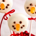 Dairy-Free Cookie Pop Snowmen