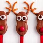 Easy Dairy-Free Reindeer Cookie Pops
