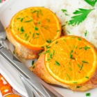 Lemon Chicken with Garlic and Orange {Slow Cooker Style}