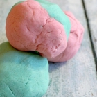 Super-Soft Cotton Candy Play Dough