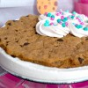 Gluten-Free & Vegan Chocolate Chip Cookie Ice Cream Cake