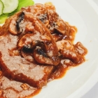 Pork Chops with Mushroom Gravy {Slow Cooker Style}