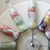 Unique Upcycled Diet Coke Bottle Clock