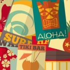 8 Free Printable Surfing Signs for a Luau Party