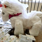 How to Make a Unicorn Diaper Cake