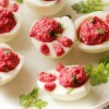 Rabbit's Foot Deviled Eggs