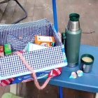 How to Upcycle a Diaper Box into a Picnic Basket