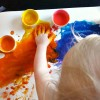 Allergy-Friendly Textured Edible Finger Paint