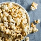 Vegan Caramel Popcorn