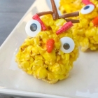 Angry Birds Popcorn Balls - Because the Yellow One Just Gets Me