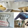 All Things Absurdly Shark (because Shark Week is Coming and Ridiculous is Awesome)