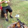 Easy DIY Toadstool Stump Cushion
