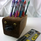 Easy Hedgehog Pen Holder Teacher Gift