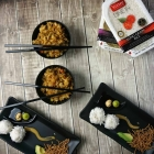 2-Minute Fried Rice with Mock Tempura Shrimp Balls {and a Giveaway!}