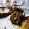 Grilled Flank Steak Stuffed Pinwheels