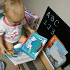 DIY Potty Time Bookshelf for Toddlers