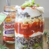 Mason Jar Lasagna To-Go