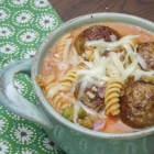 Spicy Italian Meatball Chili