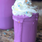 Dairy Free Unicorn Milkshake