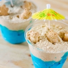 Sand Bucket Beach Bear Cups