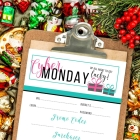 Free Printable Cyber Monday Planner