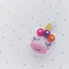 DIY Felt Unicorn Ornament