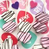 Heart Marshmallow Stirrers